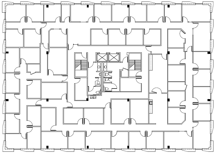 7701 North Lamar 3rd floor floorplan